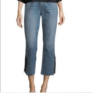 Nwt Current/Elliot Crop Jean With Insert size 25